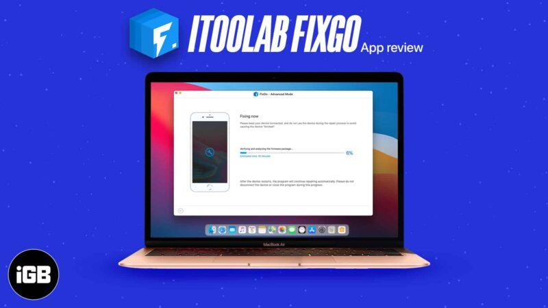 iToolab FixGo Review