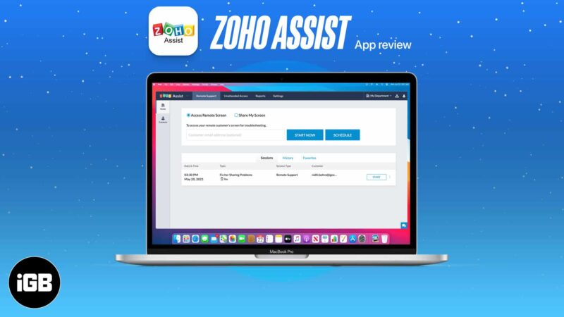 Zoho Assist Review