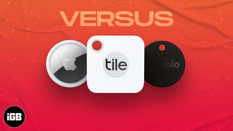 AirTag vs. Tile Mate vs. Chipolo ONE Spot