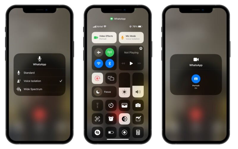 Audio video effects with iOS 15