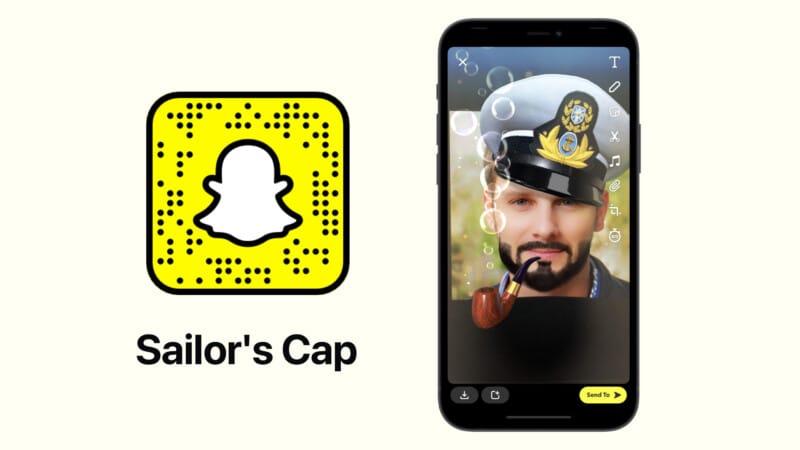 Лучшая матросская кепка от фильтра Snapchat