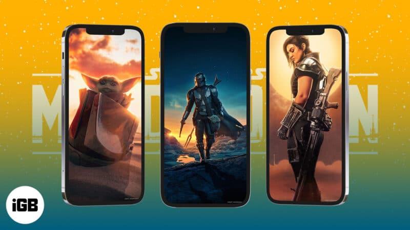 Best The Mandalorian iPhone Wallpapers