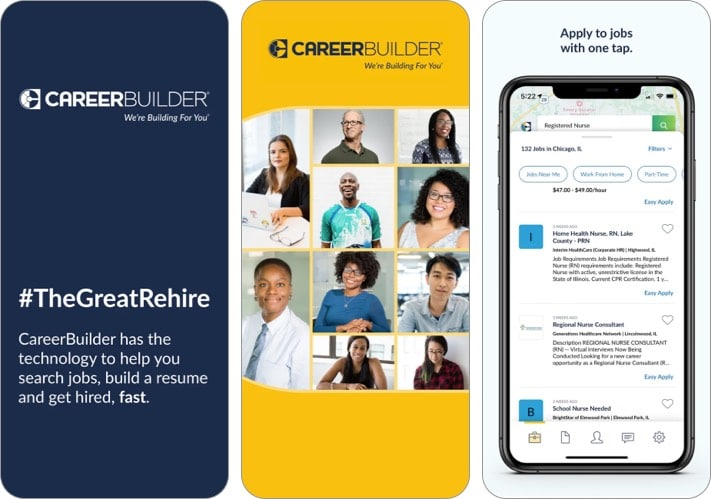 Career Builder: Job Search best job search apps for iPhone screenshot
