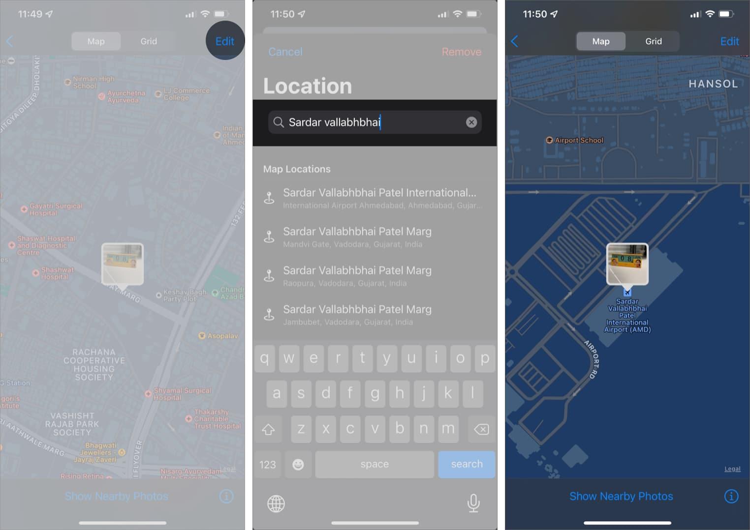Измените данные геолокации ваших фотографий на iPhone в iOS 15
