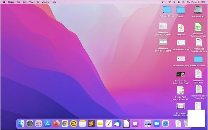 Klicken Sie auf die Eingabeaufforderung, um sie zu erweitern und eine neue Quick Note auf dem Mac zu erstellen