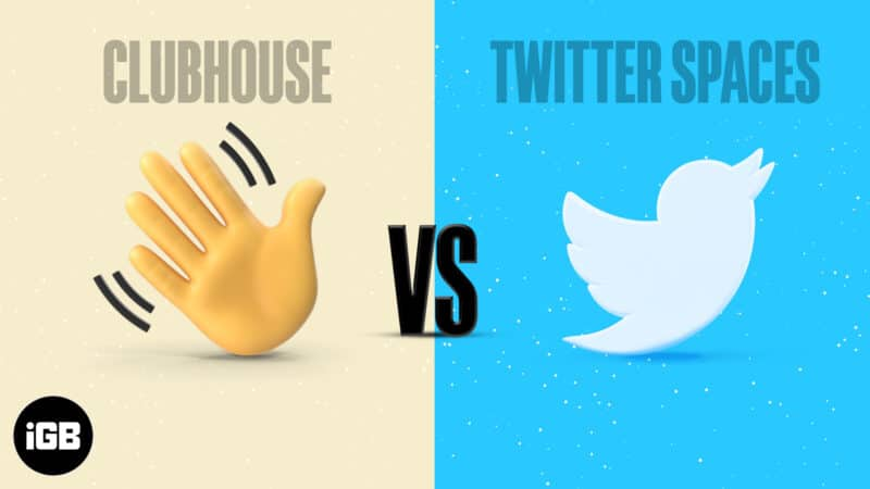 ClubHouse VS TwitterSpaces which audio platform is best