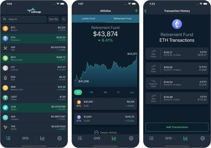 geriausia cryptocurrency trading app ios)