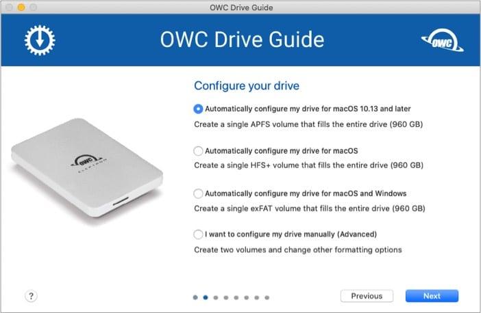 Compatibility of OWC Envoy Pro Elektron