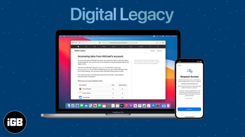 Digital Legacy in iOS 15 what is it and how to use it