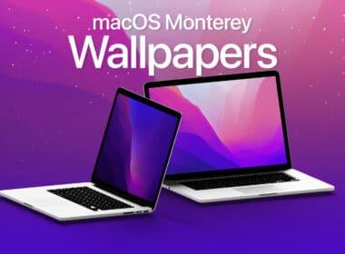 Download new macOS Monterey wallpapers