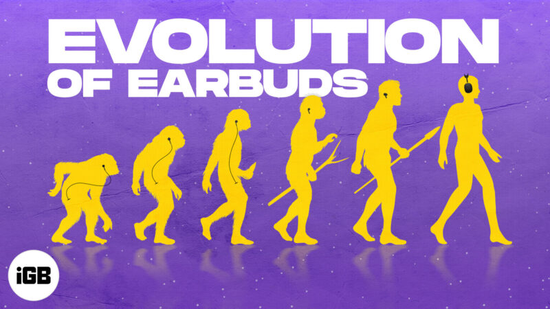Evolution Of Apple Earbuds