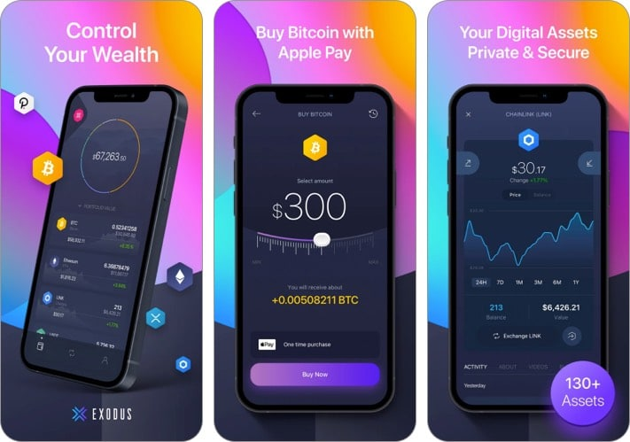 Exodus best cryptocurrency apps for iPhone