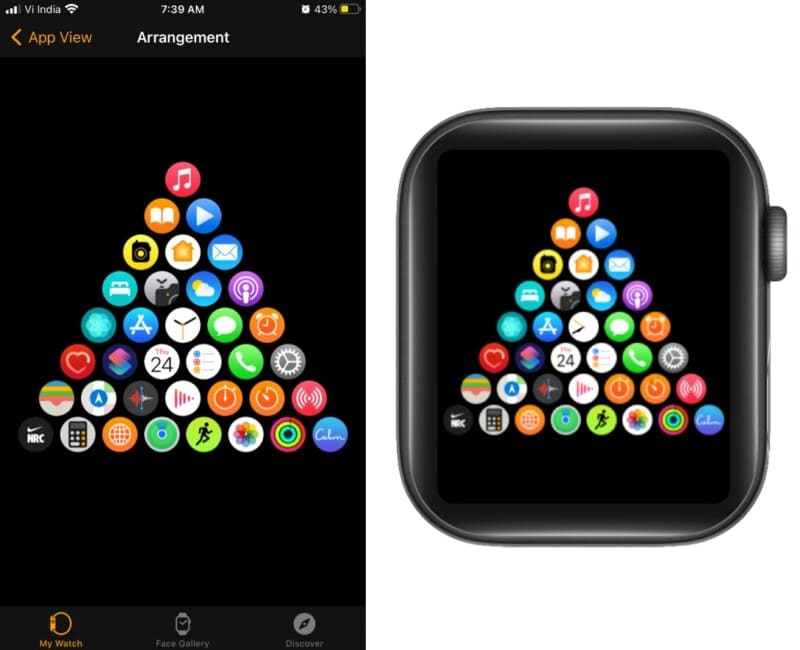 For the love of Christmas on Apple Watch