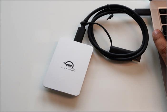 Оборудование и производительность OWC Envoy Pro Elektron