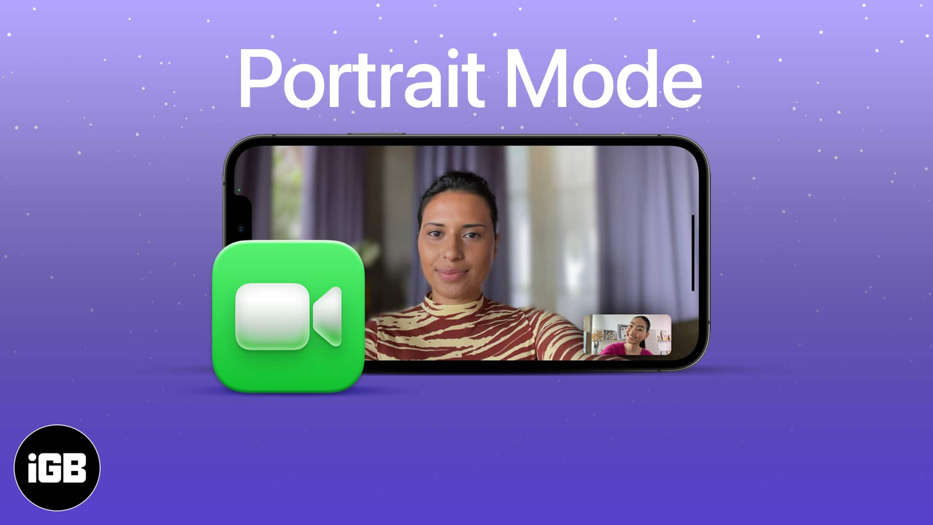 How to blur the background in FaceTime video calls on iPhone (iOS 15)