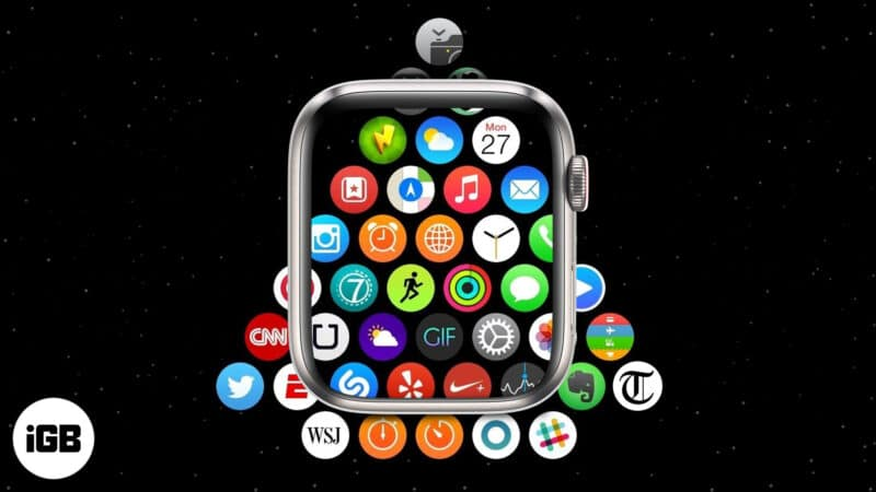 How to change Apple Watch App Layout