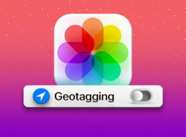 How to disable Geotagging for Photos on iPhone or iPad
