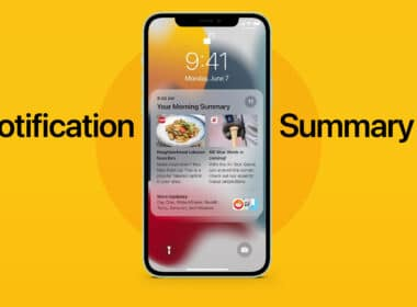 How to enable Notification-Summary in iOS 15 on iPhone