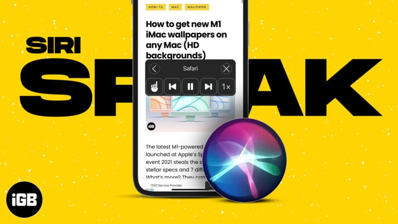 How to get Siri to read emails, articles, and other text on iPhone, iPad, or Mac