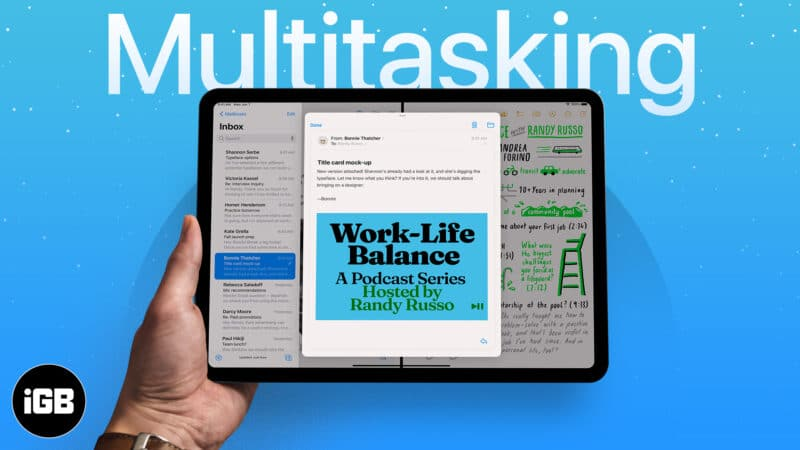 How to multitask on iPad An ultimate guide