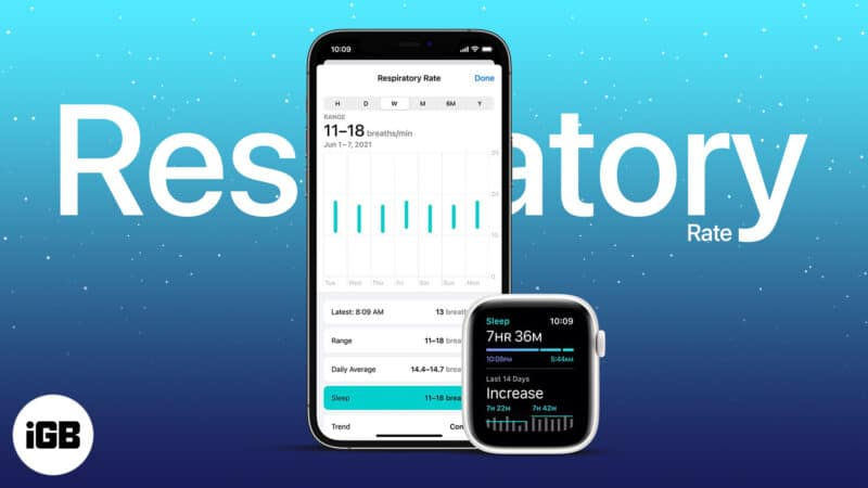 How to use respiratory rate tracking on Apple Watch