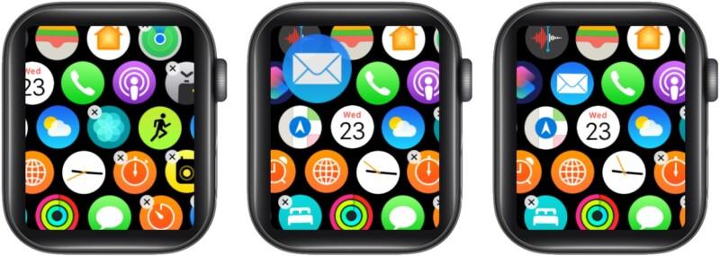 Organize apps on Apple Watch