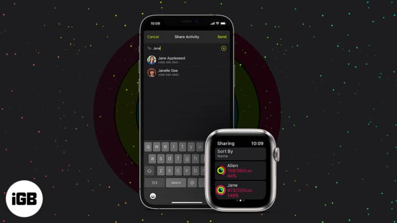 Share your Activity from Apple Watch and iPhone