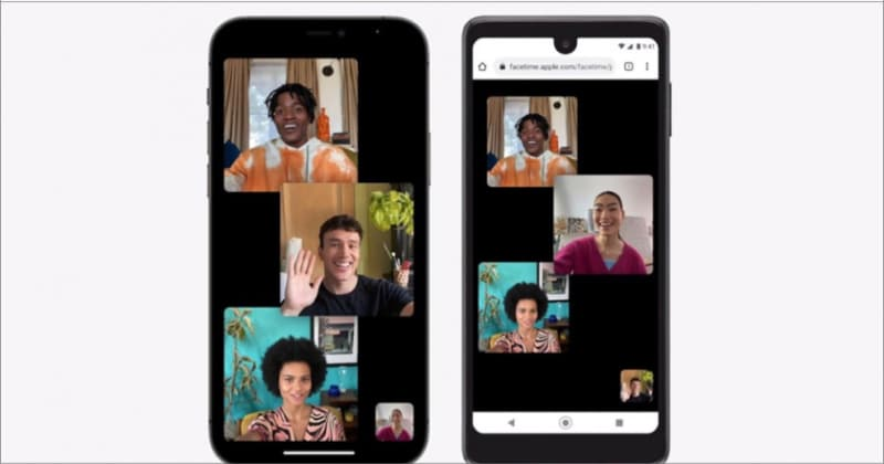 Shareable links to schedule FaceTime video call in iOS 15