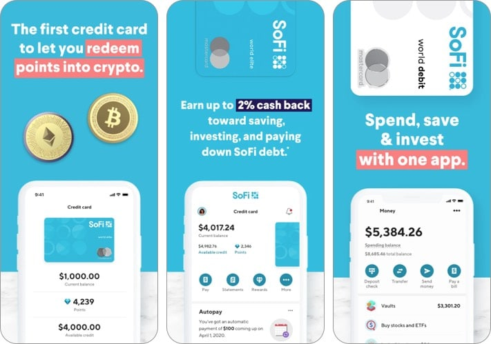 SoFi-best-cryptocurrency-apps-for-iPhone-screenshot