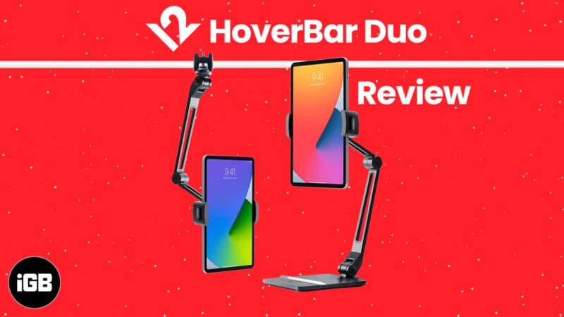 Twelve South HoverBar Duo iPad stand Review