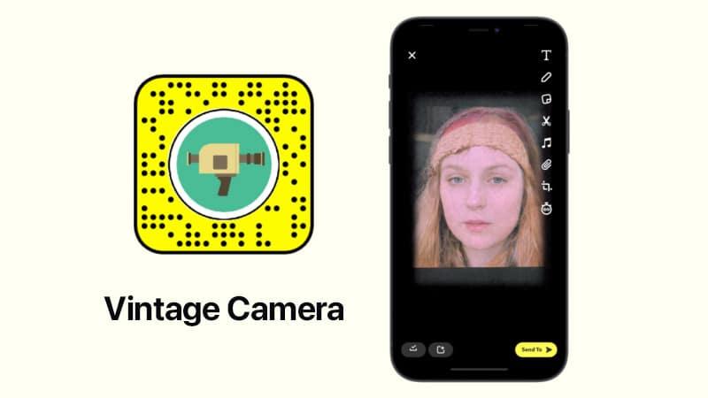 Винтажная камера от Miha Malenšek Snapchat filter