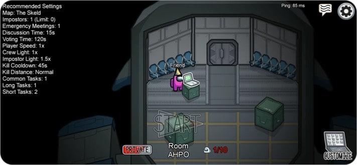 unter uns Indie-Spiel Screenshot