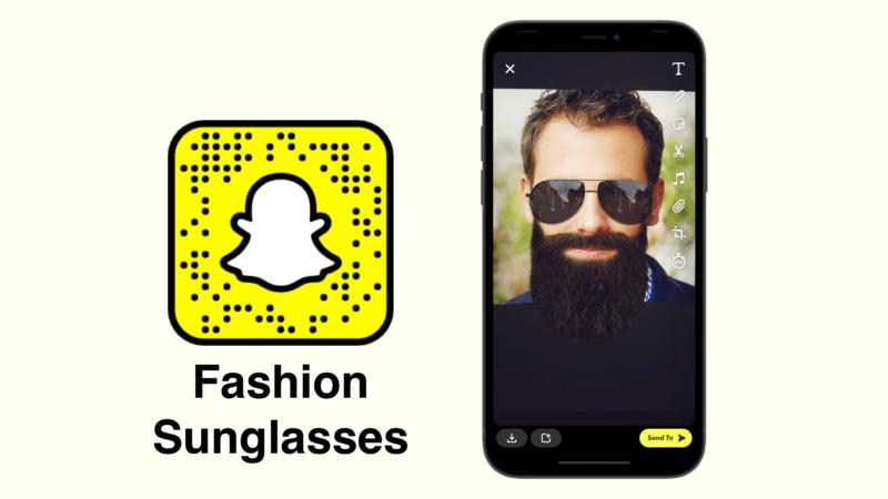 Модные солнцезащитные очки Snapchat фильтры