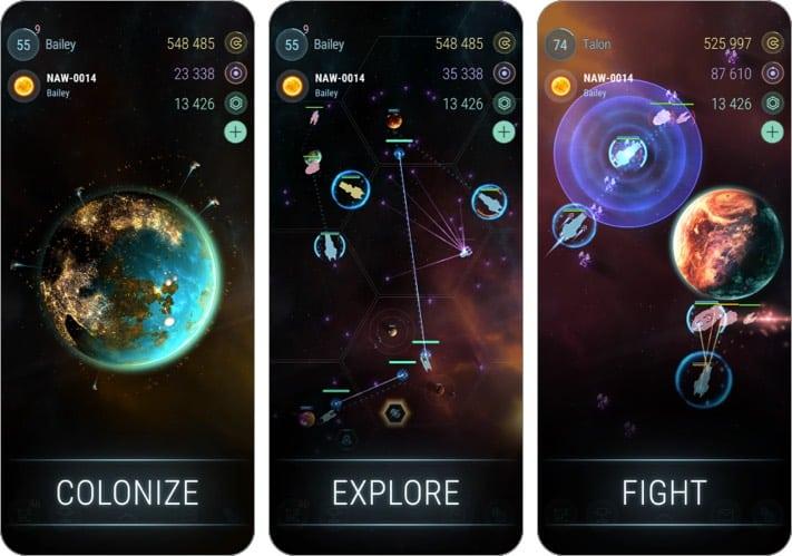 Hades Star Indie-Spiel Screenshot