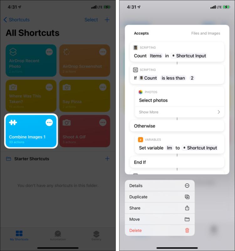 Как дублировать ярлык Siri на iPhone