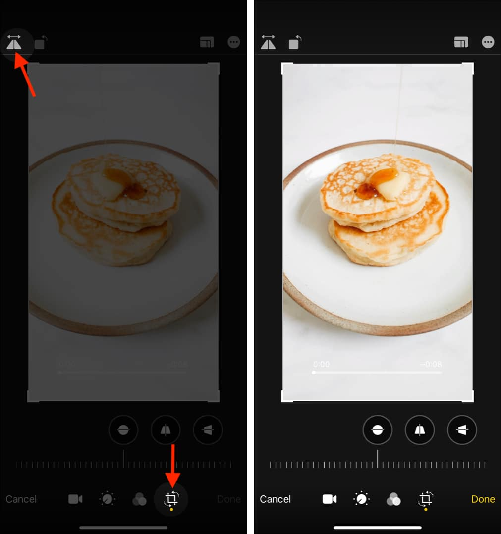 How to flip a video on iPhone or iPad