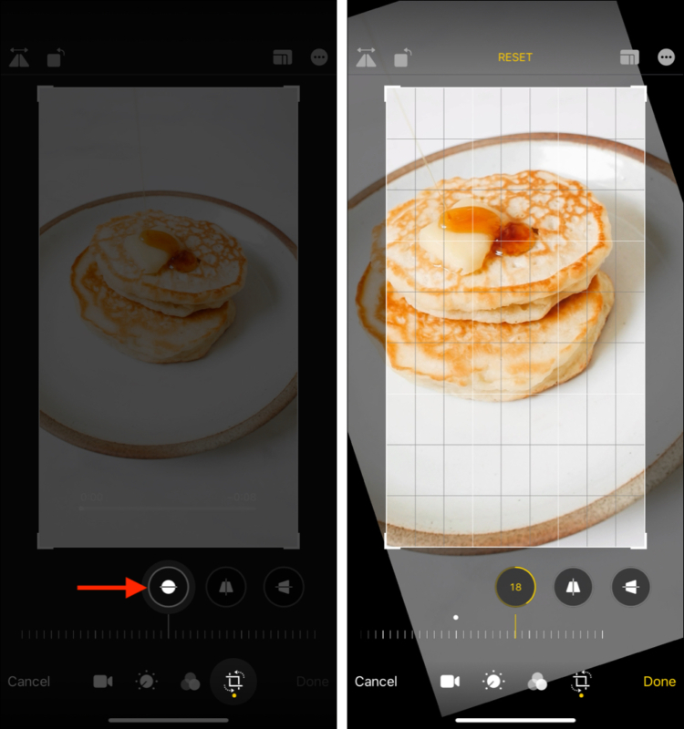 How to rotate a video freely on iPhone