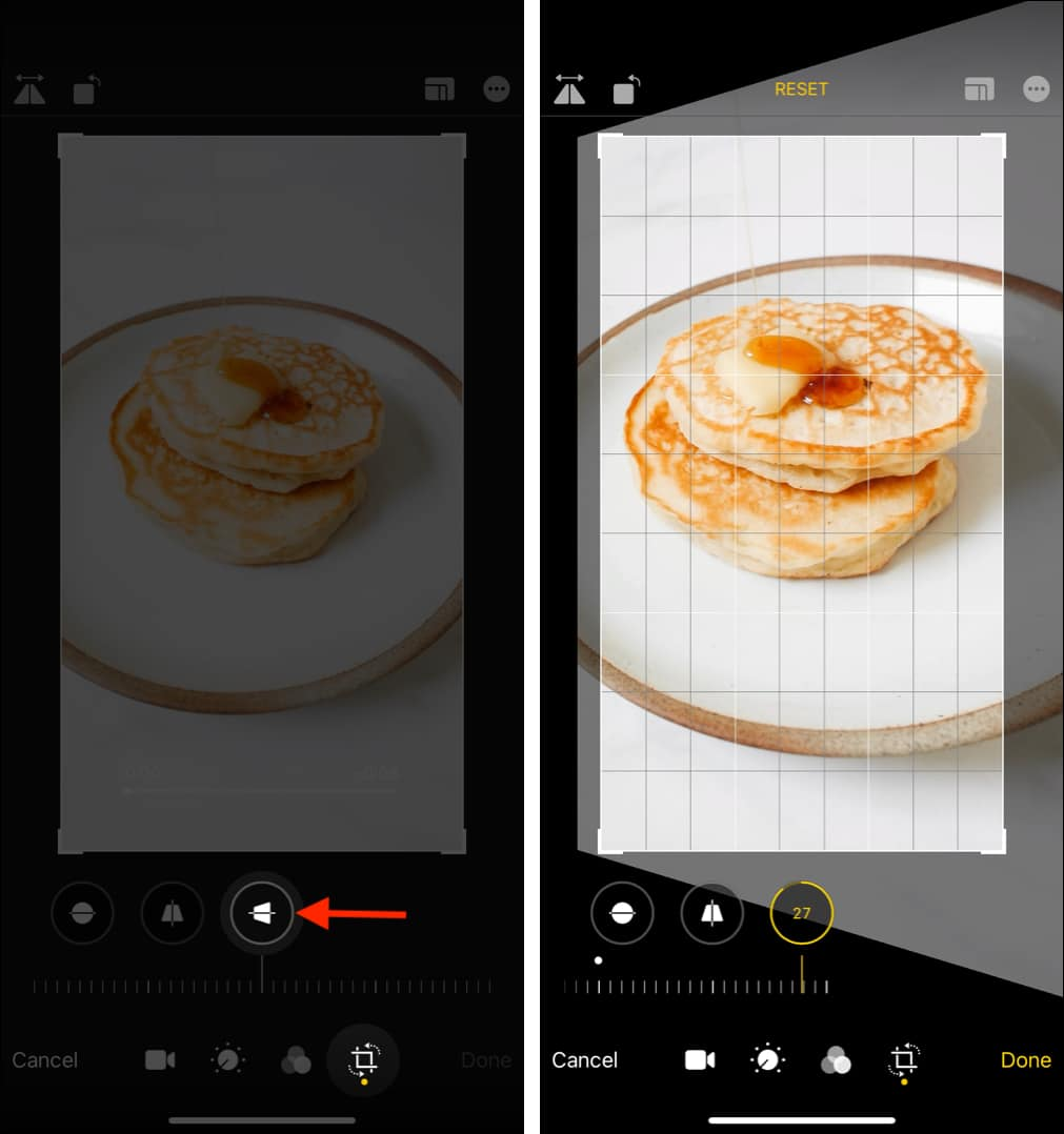 How to stretch a video horizontally on iPhone or iPad