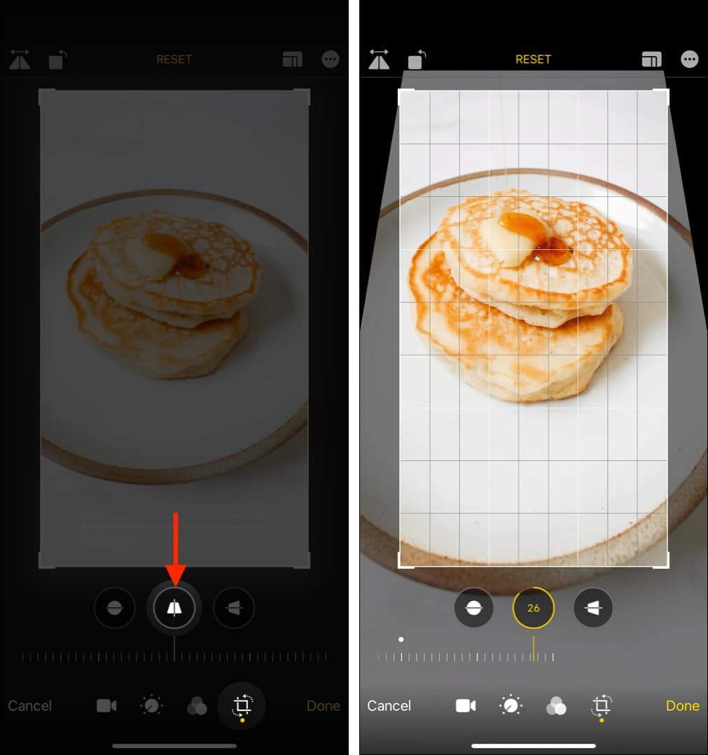 How to stretch a video vertically on iPhone or iPad