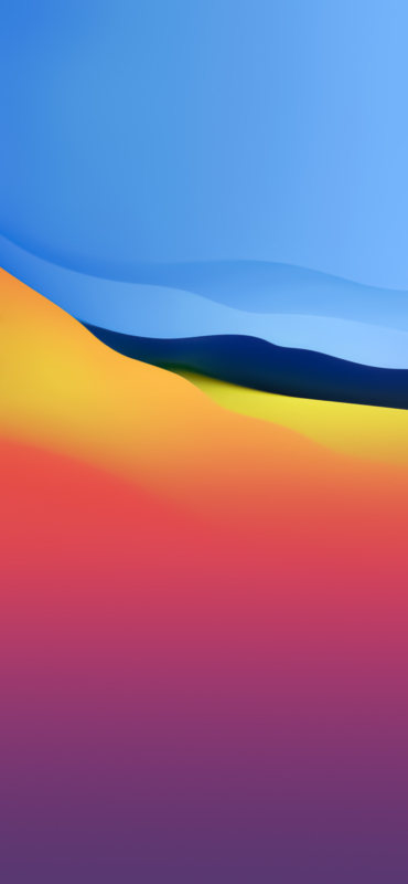 iOS 15 concept wallpaper inspired by Big Sur