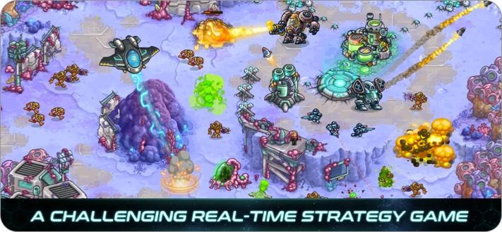 Iron Marines Indie-Spiel Screenshot