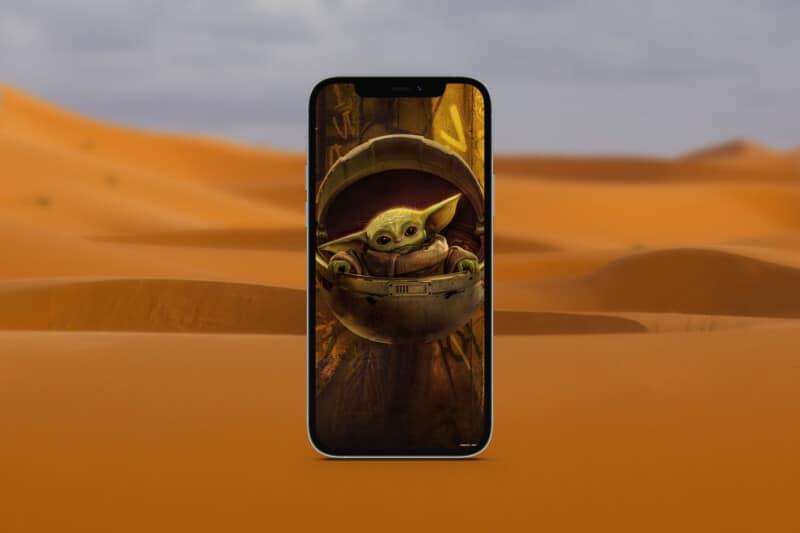мандалорские обои для iphone 1