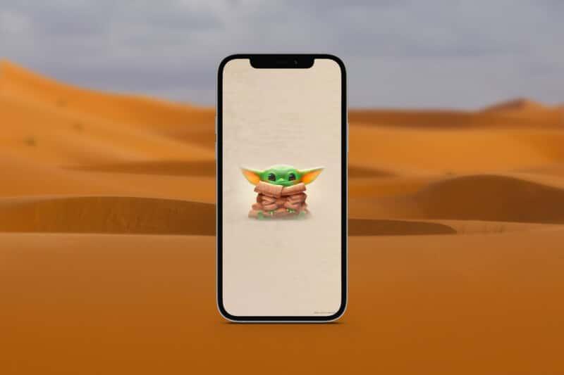 мандалорские обои для iphone 10