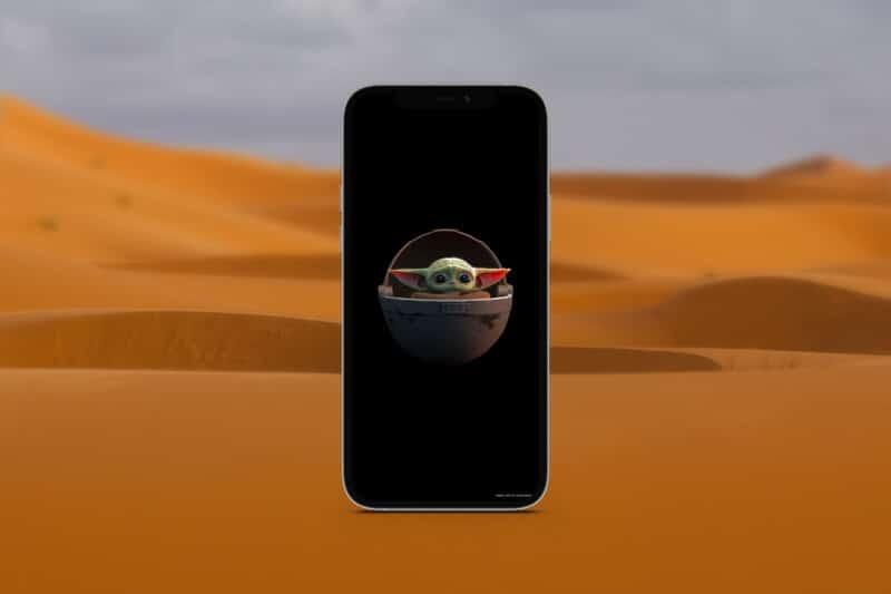 мандалорские обои для iphone 11