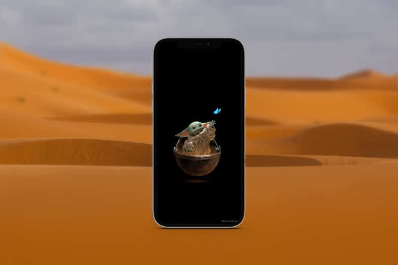 мандалорские обои для iphone 12