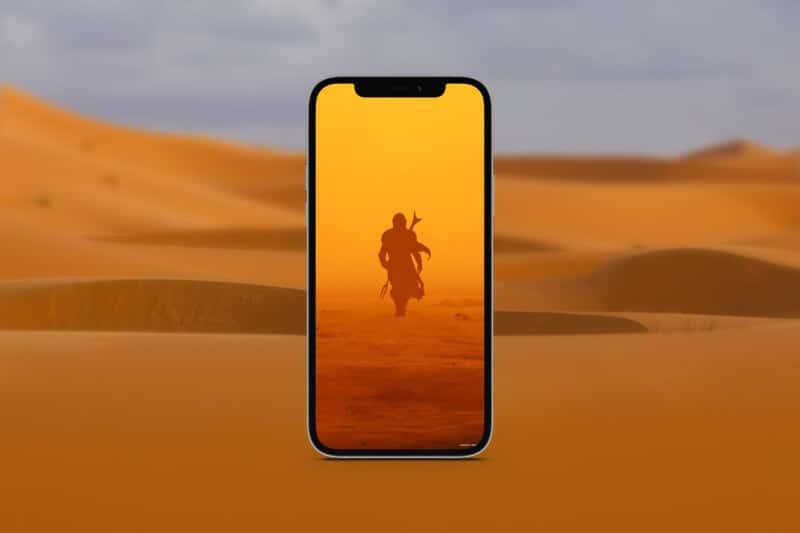 мандалорские обои для iphone 14