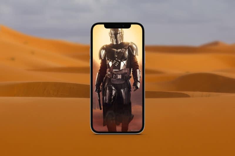 мандалорские обои для iphone 3