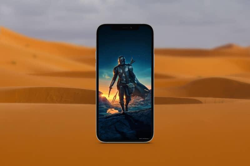 мандалорские обои для iphone 5