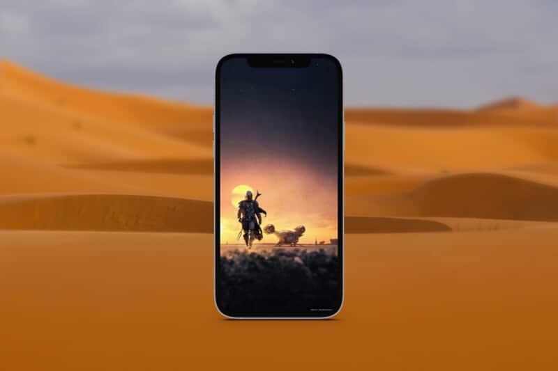 мандалорские обои для iphone 6