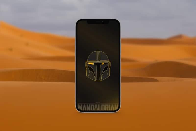 мандалорские обои для iphone 7